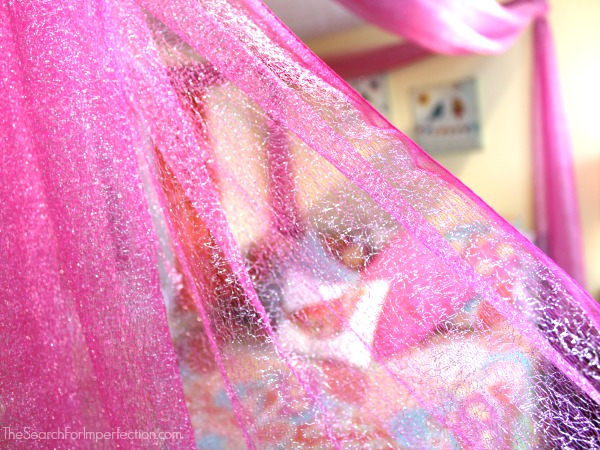 Fabric for DIY Princess Canopy Bed