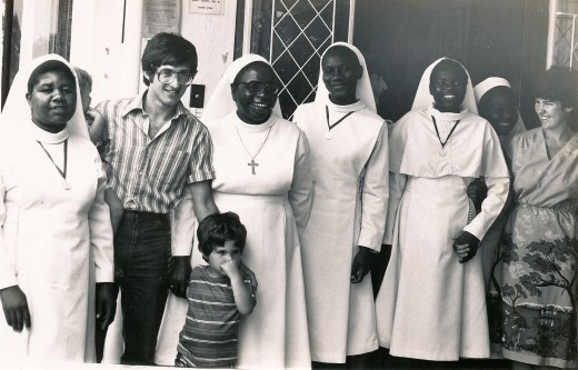 The Catholic Church was part and parcel of my childhood. My mother was active in her faith. I'm not sure which Order these nuns are from or where in Harare we are. My mother was educated by the Dominicans.