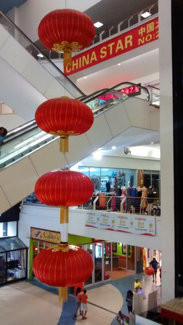 One of a numer of so-called China Malls in a major cities around the country. Althogh not exclusively selling Chinese merchandise the upper floors of this mall house a Chinese-style department store selling all manner of things.