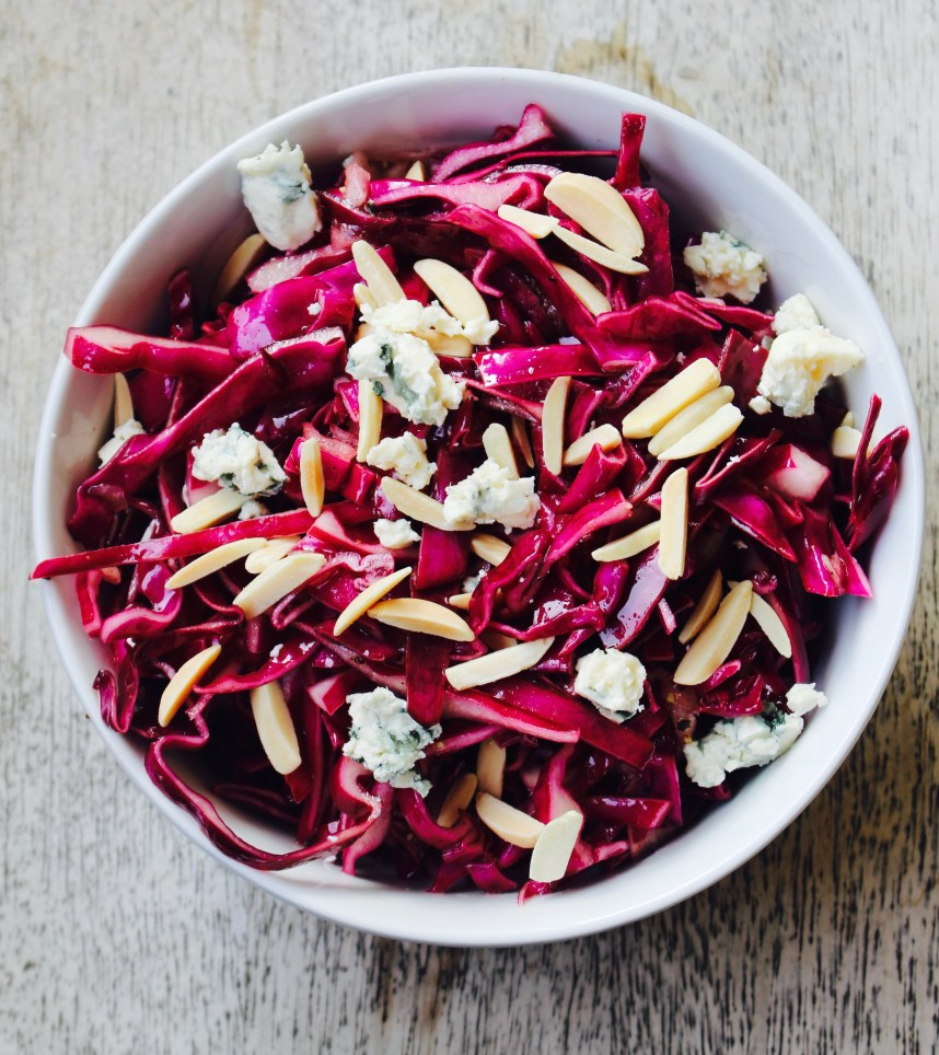 The Best Red Cabbage Salad
