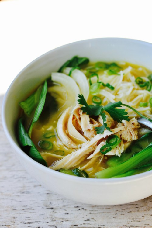 The Easiest Chicken Pho