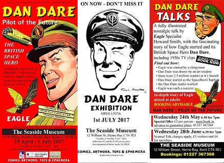 Dan Dare exhibition now open