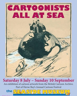New exhibition – Cartoonists All At Sea