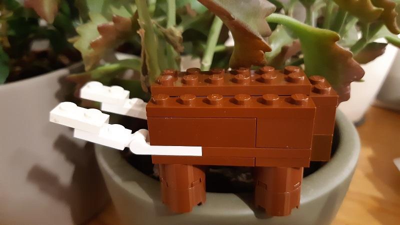 Lego Straight Tusked Elephant
