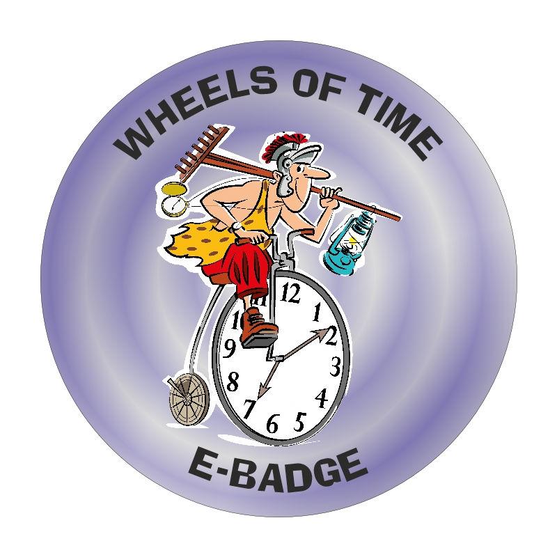Wheels Of Time E-Badge logo