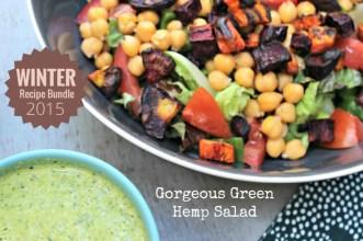 Gorgeous Green Hemp Salad.