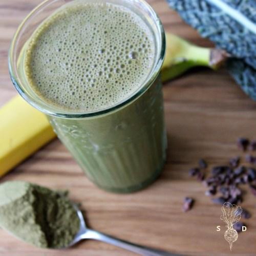 Moringa Green Smoothie Recipe