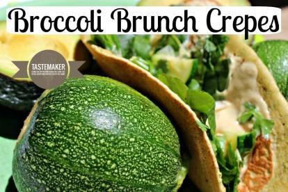 Broccoli Brunch Crepes
