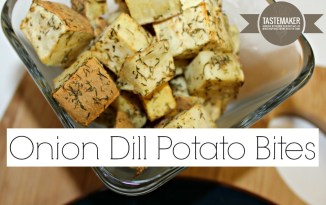 Onion Dill Potato Bites