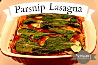 Parsnip Lasagna