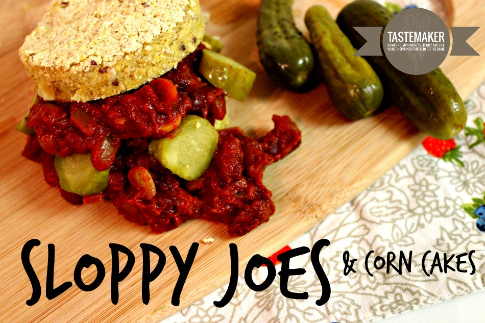 Sloppy Joes and Corn Cakes