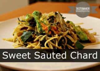 Sweet Sauted Chard