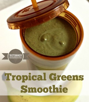 Tropically Green Smoothie