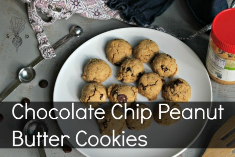Chocolate Chip Peanut Butter Cookies TM