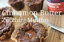 Cinnamon Butter Zucchini Muffins TM