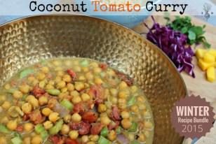 Coconut Tomato Curry.