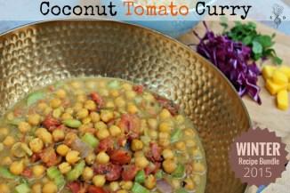 Coconut Tomato Curry.
