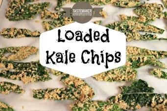 Loaded Kale Chips