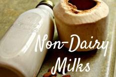 Non Dairy Milk Recipes