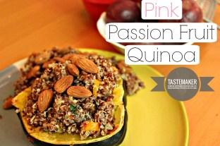 Pink Passion Fruit Quinoa