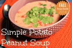 Simple Potato Peanut Soup