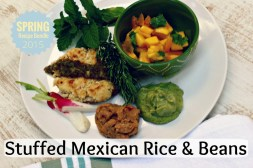 Stuffed Mexican Rice and Beans