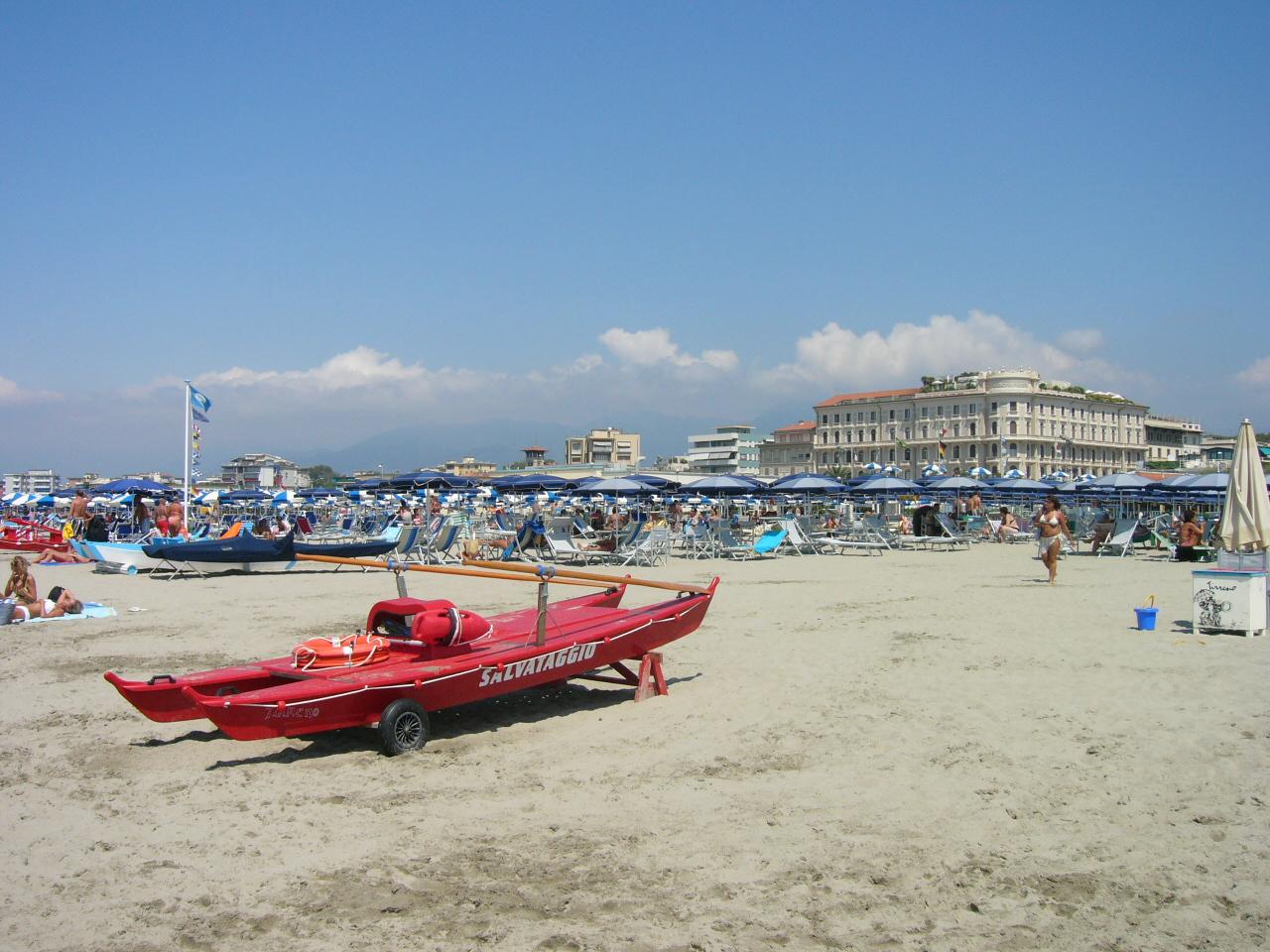 Viareggio, Italy - August 15th, 2008
