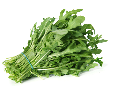 Fresh arugula (aka rocket or rucola) is great in a salad or on sandwiches