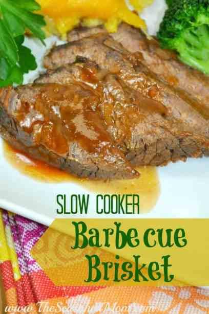 Slow Cooker Barbecue Brisket