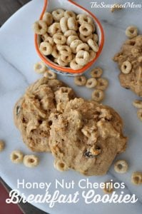 Honey Nut Cheerios Breakfast Cookies