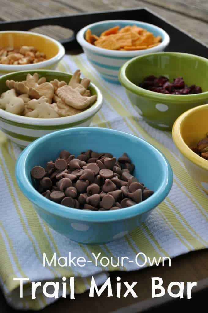 Make Your Own Trail Mix Bar
