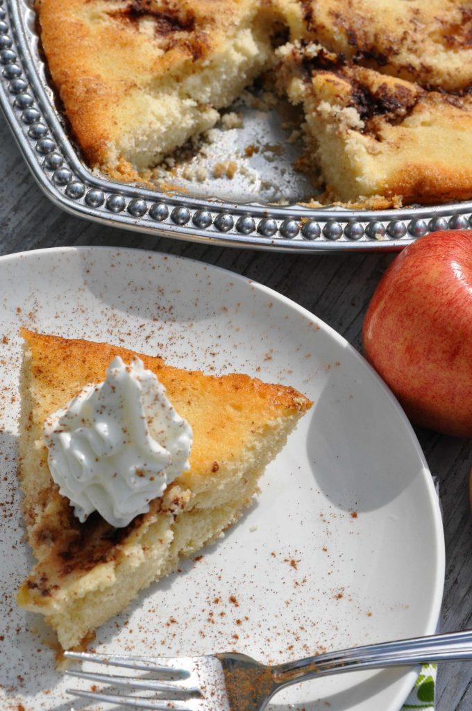 Old-Fashioned Apple Cake