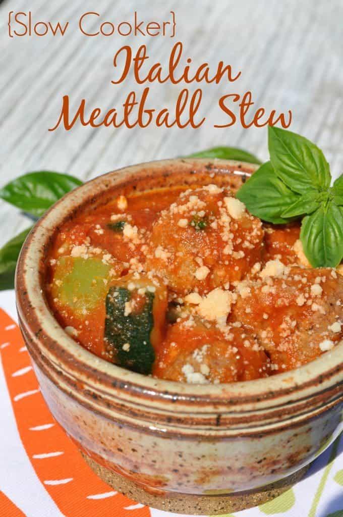 Slow Cooker Italian Meatball Stew 3