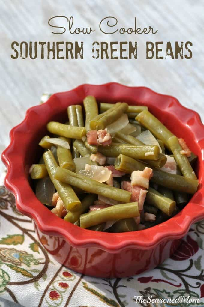Slow Cooker Southern Green Beans 2
