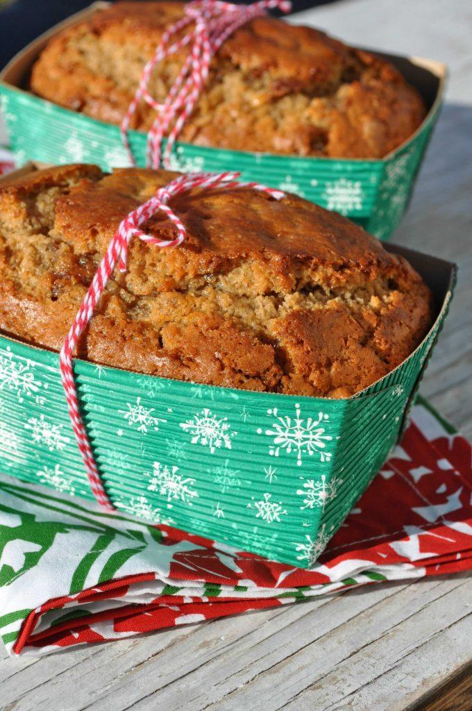 Cinnamon Date and Nut Mini Loaves 1