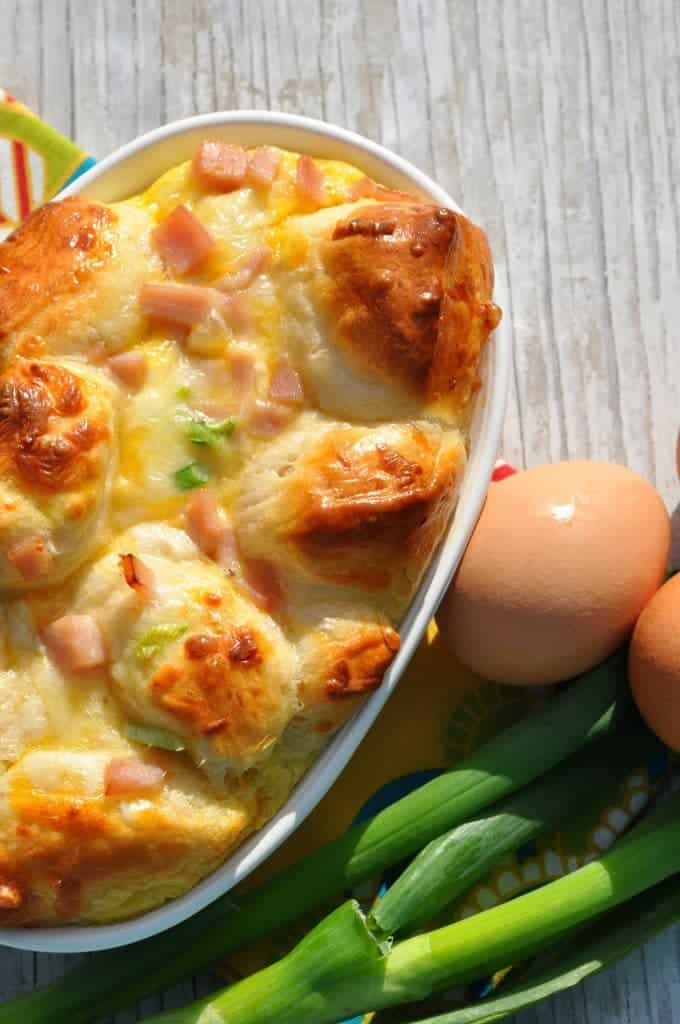 Ham Egg and Cheese Monkey Bread 2