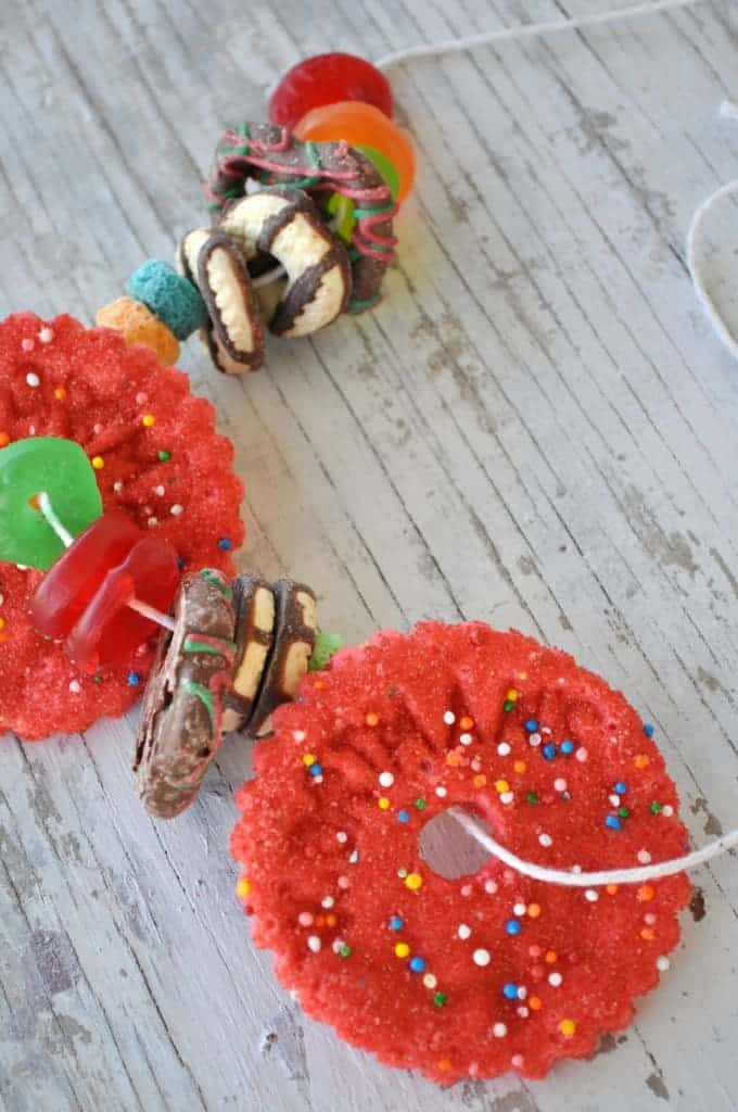 Snack Necklaces Close Up