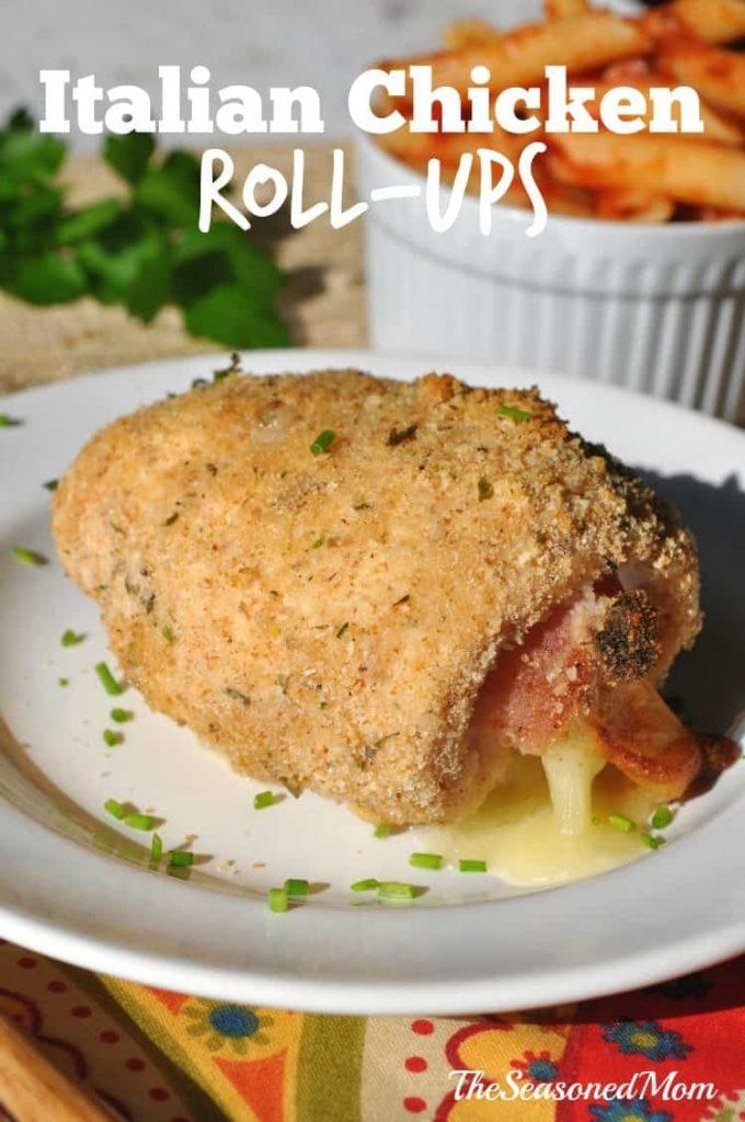Italian Chicken Roll-Ups 3