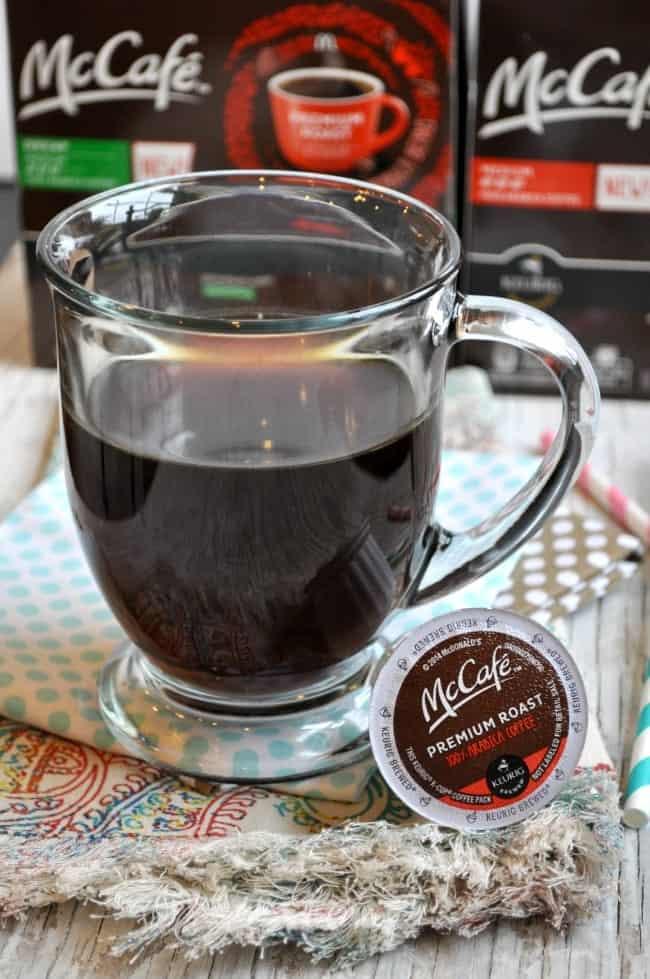 Brewed McCafe Coffee