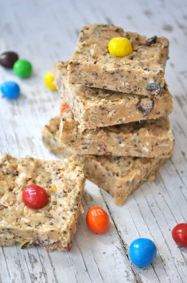 Healthy No Bake Granola Bars 5