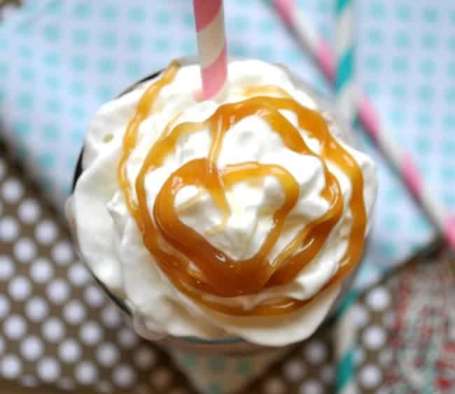 Salted Caramel Mocha Protein Shake 1