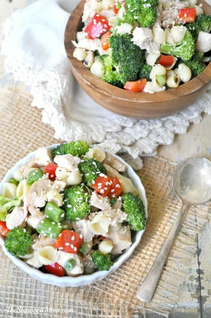 Sesame Chicken Pasta Salad 2