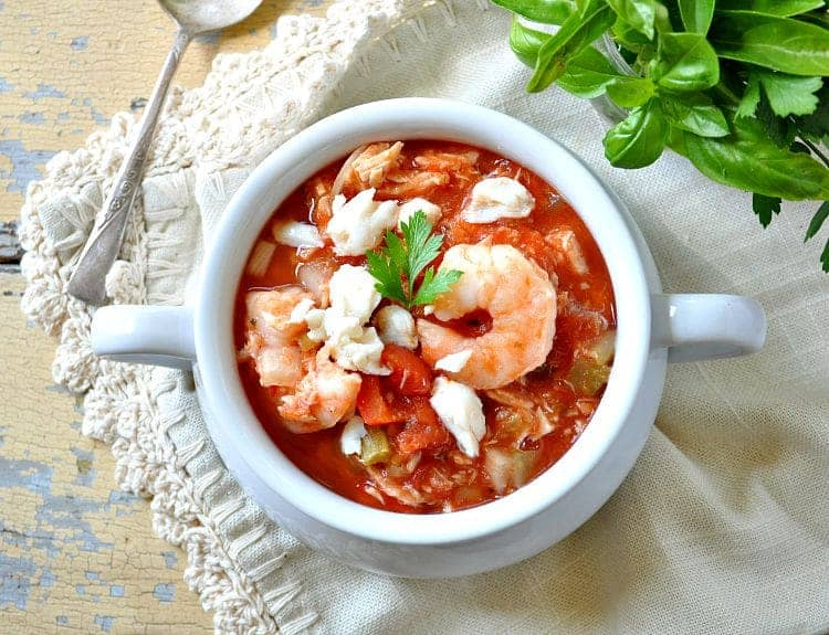 Slow Cooker Cioppino 5