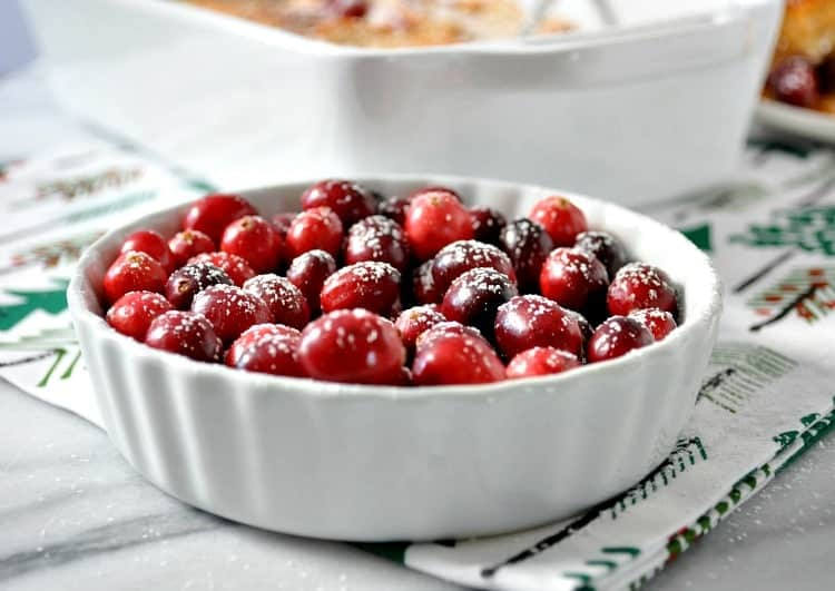 Overnight Cranberry French Toast Casserole 11