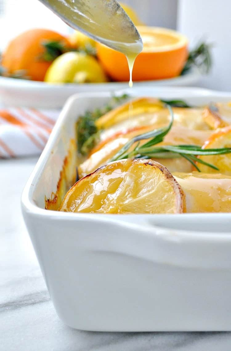 No Work Citrus and Herb Baked Chicken 7