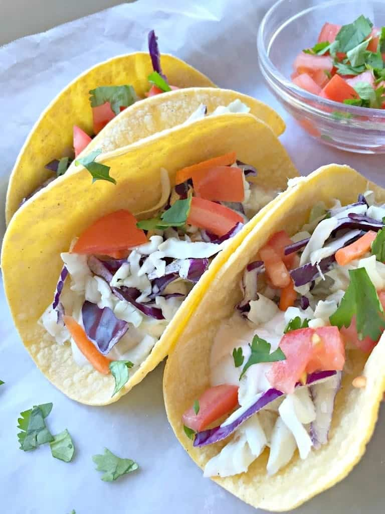 30 favorite seafood recipes the seasoned mom for Best fish tacos nyc
