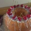 Cherry Cardamom Cake