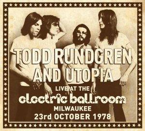 todd and utopia electric ballroom