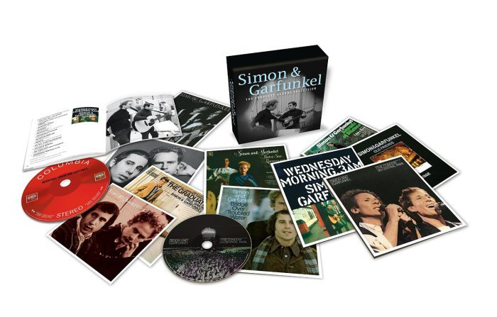 Simon and Garfunkel - Albums Contents