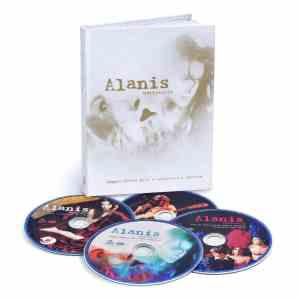 Alanis Jagged 4 CD Box